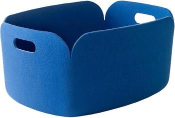 Muuto Korb Restore 23x35x48cm midnight blue