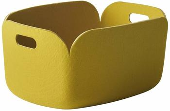 Muuto Korb Restore 23x35x48cm gelb