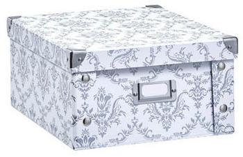Zeller Aufbewahrungsbox Pappe weiß (17972)