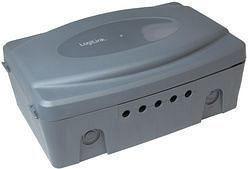 LogiLink Wetterfeste Außen-Elektronikbox grau