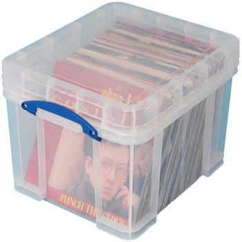 Really Useful Products 35Liter Really Useful Box 48x39x31cm transparent (35CXL)
