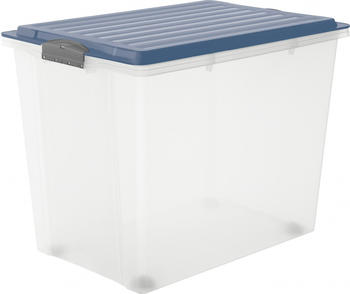 rotho-stapelbox-a3-mit-rollen-compact-horizon-blue