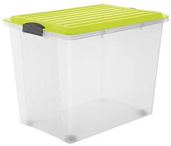 rotho-stapelbox-a3-mit-rollen-compact-limettengruen