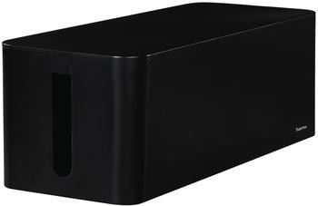 Hama Kabelbox Maxi Schwarz (56826)