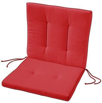 Best Antigua Sitz-und Rückenkissen 90 x 45 cm rot (05311330)