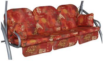 Angerer Deluxe Schaukelauflage für 3-Sitzer 180 x 50 cm Wasserburg