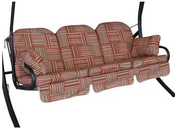Angerer Deluxe Schaukelauflage für 3-Sitzer 180 x 50 cm Modena rot