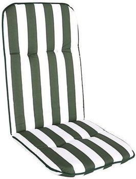 beo Capri Paspelauflage 115x48cm dunkelgrün/weiß