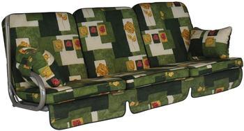 Angerer Comfort Schaukelauflage 3-Sitzer grün