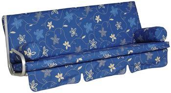Angerer Trend Schaukelauflage 3-Sitzer Korfu blau