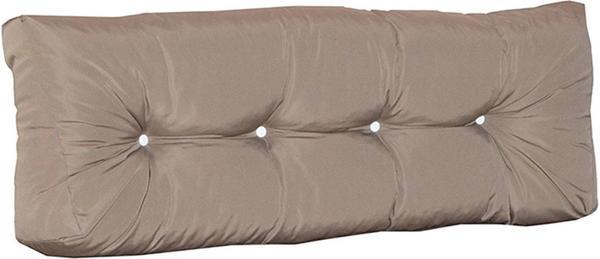Doppler Rückenkissen für Palettenmöbel 120x40x10/15/20cm Des. Look 846 braun (558438846)
