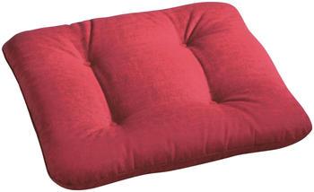 Best Sitzkissen f. Diva, Antiqua, Moretti 48x48x6cm Des.1361 rot Rot