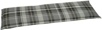 GO-DE Bankauflage 148x45cm grau/cremefarben/anthrazit (68235644)
