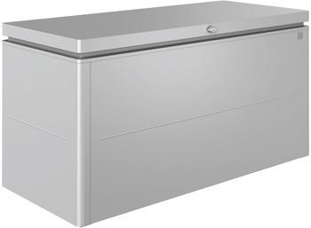 Biohort LoungeBox 160x70x83,5cm silber-metallic