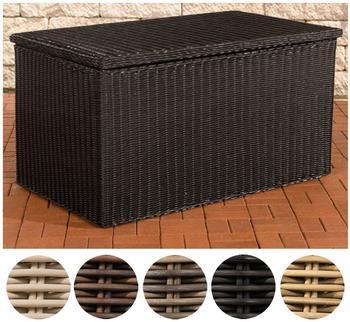 CLP Luxus Auflagenbox XXL schwarz