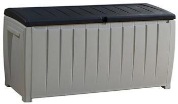 Tepro Novel Storage Box mit Sitzfunktion 125 x 55 x 61 cm grau/schwarz