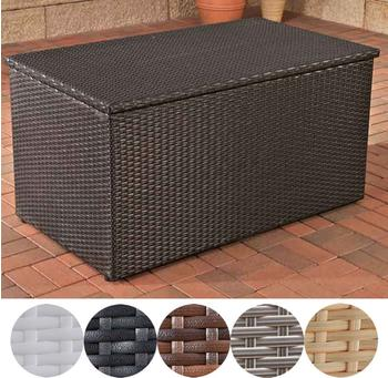 CLP Auflagenbox L 515 Liter (Polyrattan) schwarz