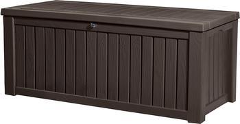 Keter Rockwood Holz-Optik 570 Liter braun
