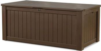 Keter Rockwood Holz-Optik 570 Liter beige/weiß