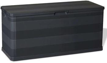 vidaXL Box 280 L schwarz (43708)