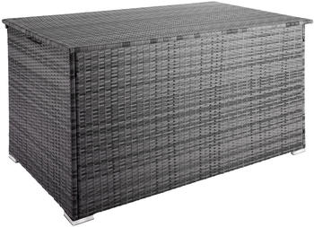 TecTake Auflagenbox Stockholm grau (403276)