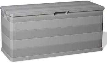 vidaXL Gartenbox 117×45×56cm Grau