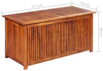 vidaXL Gartenbox 117×50×58cm Akazie
