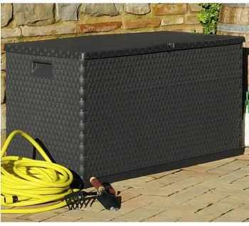vidaXL Gartenbox 120×56×63cm Anthrazit