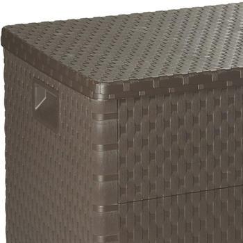 VidaXL Gartenbox 120×56×63cm Braun