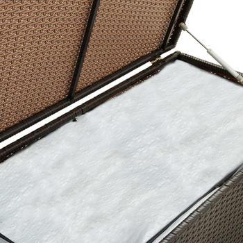 vidaXL Gartenbox 200×50×60cm Braun