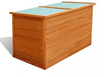vidaXL Wood Box (42702) 126x72x72 cm