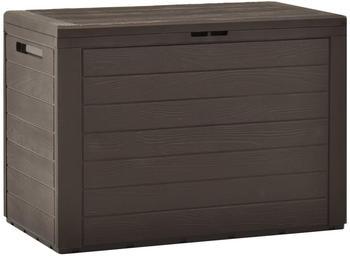 vidaXL Garden Storage Box 78 x 44 x 55 Brown