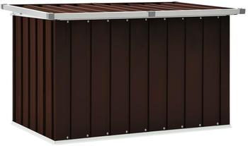 vidaXL Storage Box Brown