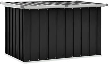 vidaXL Storage Box 109 x 67 x 65 cm Dark Grey