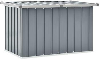 vidaXL Storage Box 109 x 67 x 65 cm Grey