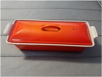 Le Creuset Pastetenbackform 32 cm ofenrot