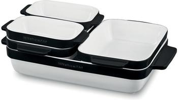 KitchenAid Keramikformen-Set schwarz 5-teilig