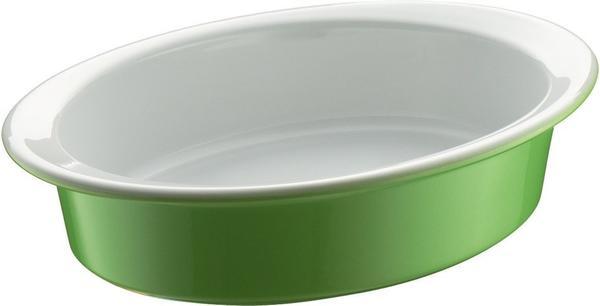 Berndes Auflaufform oval 20 x 14 cm grün