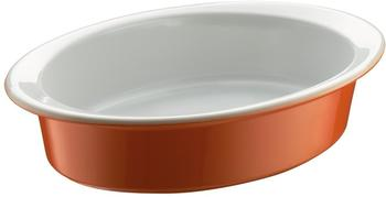 Berndes Auflaufform oval 29 x 20 cm orange