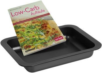Zenker Auflaufform mit Low Carb Kochbuch