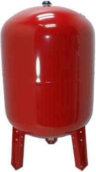 Stabilo Sanitär Ausdehnungsgefäß stehend 200 Liter rot