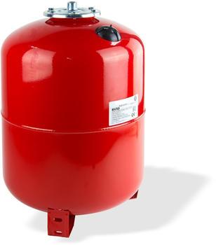 Stabilo Sanitär Ausdehnungsgefäß stehend 50 Liter rot