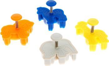 Silikomart Ausstecher Animals / Tiermotive 4-er Set