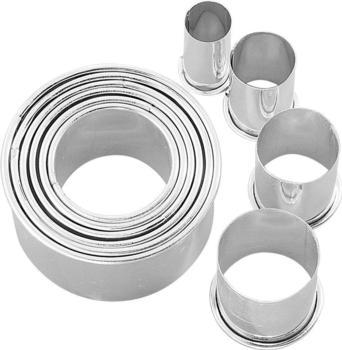 Birkmann Easy Baking Ausstechformen-Set Kreis 10-teilig