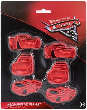 P:os Disney Cars Ausstechformen 6 Stück