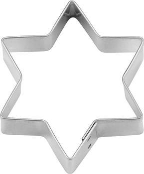 Städter Ausstecher Stern Weißblech 15 cm