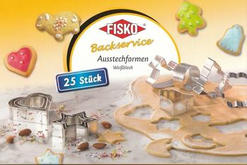 Fisko Backwelten Ausstecher Set 25 Stck.