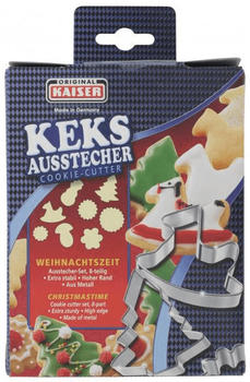 Kaiser Ausstecher Weihnachtszeit 8 tlg.