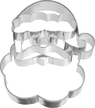 Birkmann Ausstecher Weihnachtsmann-Gesicht 10,4 cm
