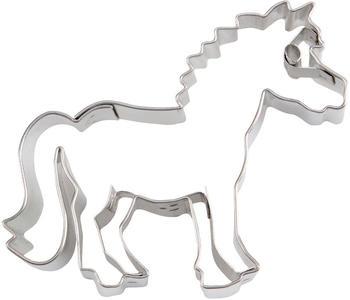Städter Präge-Ausstecher Pony 6 cm Edelstahl